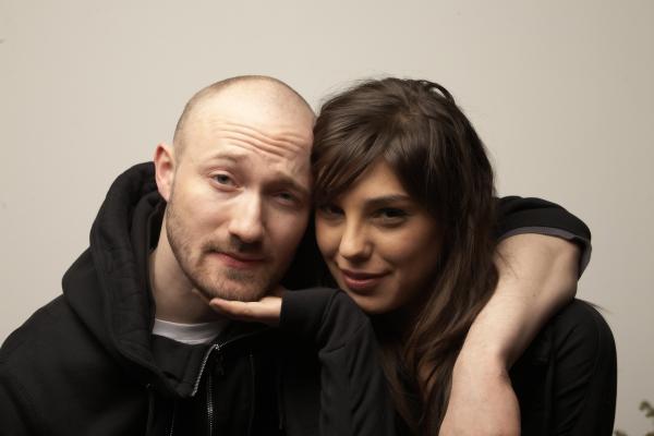 Paul Kalkbrenner with Girlfriend Simina Grigoriu