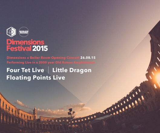 Dimensions Festival 2015 - Opening Concert flyer