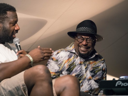 George Clinton and Tony Nwachukwu in conversation at Dimensions Festival 2015 - 2